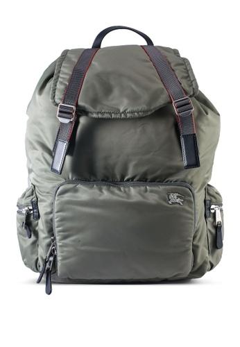 Burberry green Tyn Rucksack Backpack (oc) 977A9ACC72E850GS_1