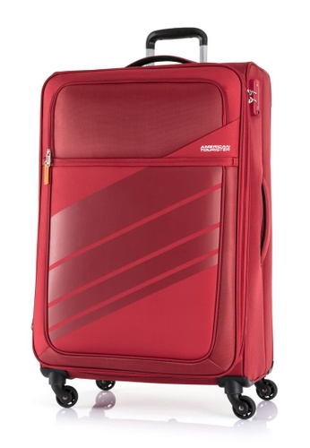 American Tourister red American Tourister Stirling Spinner 79/29 EXP TSA Luggage 33D83ACE120429GS_1