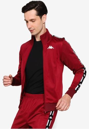 Kappa red L.A. Banda Jacket A182AAAA1EE9DAGS_1