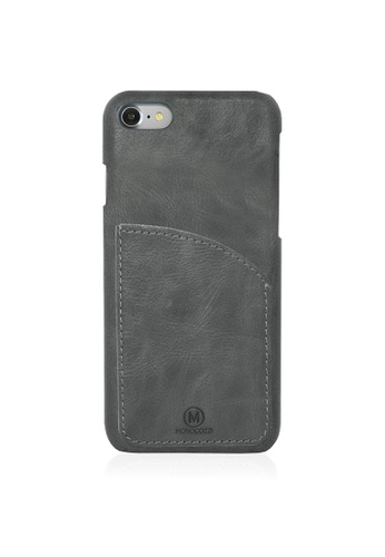 Monocozzi black EXQUISITE Genuine Leather Case with Pocket for iPhone 7 - Black MO983AC58IPDHK_1