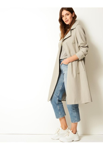 MARKS & SPENCER M&S Double Breasted Trench Coat 175BEAAA762A5AGS_1