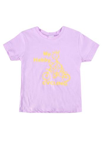 UniqTee purple My Baby Hobby Tee 8E360KA918BA2AGS_1