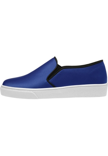paperplanes SNRD-131 Satin Tall Up Casual Slip-Ons Shoes US Women Size PA110SH58ZMRHK_1