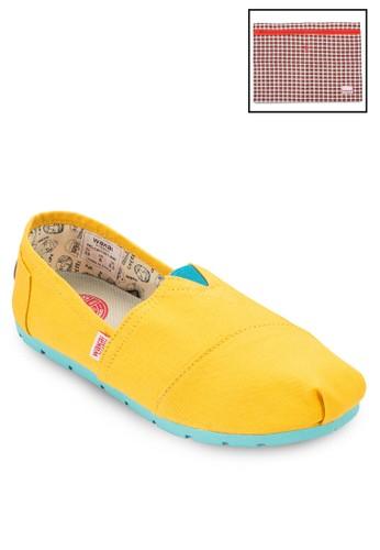 AIMI 帆布懶人鞋, 女鞋esprit taiwan, 鞋
