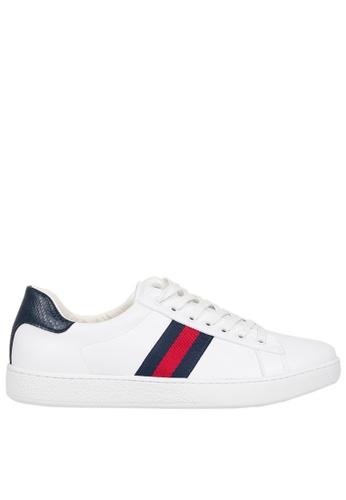 Tomaz white Tomaz TR260 Mens Sneakers (White) 6DC62SH07B9BEAGS_1