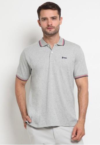 Hammer grey Hammer Men Polo Shirt Fashion E1PF571 A1 Grey 12CA4AA5CDB9A1GS_1