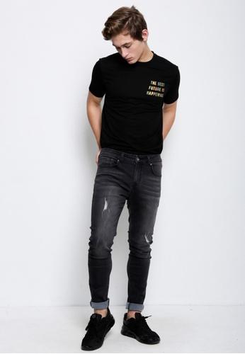Hi Style black Long Jean Skinny Fit 63BEFAAC5C1D7DGS_1