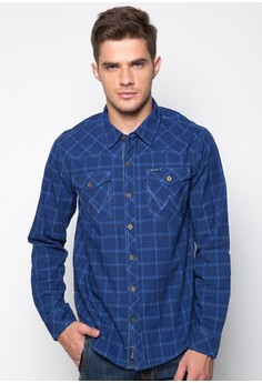 Checkered Long Sleeved Shirt