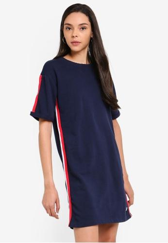 ce210562330519 Buy Superdry Georgia Short Sleeve Sweat Dress Online on ZALORA Singapore