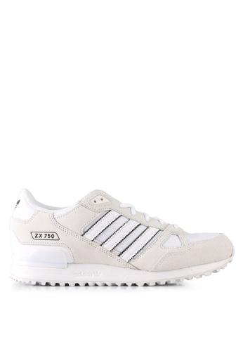 adidas white adidas originals zx 750 AD372SH0SVFCMY_1