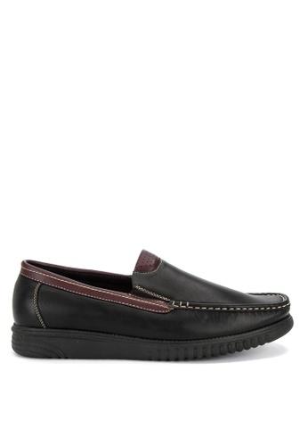 Italianos black Xavier Loafers F7992SH1B948AEGS_1