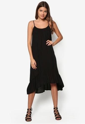 Tilde 細esprit暢貨中心肩帶寬擺連身裙, 服飾, 夏日洋裝