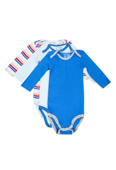 Luvable Friends 3 Long Sleeve Bodysuits