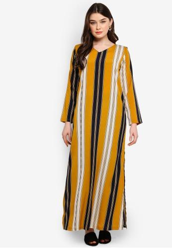 Lagendas yellow Kayla Jubah Tunic 9CA33AA55BD830GS_1