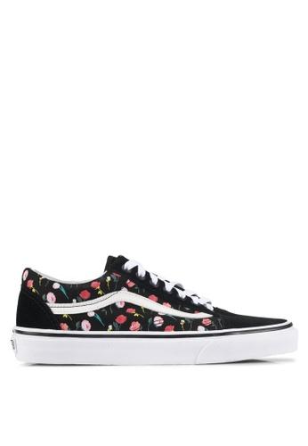 VANS black Old Skool Valentine Sneakers VA142SH0SWSJMY_1