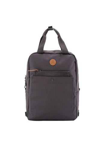 MORAL green Budd Backpack - Regular - Grey Olive A3678AC80EDA16GS_1
