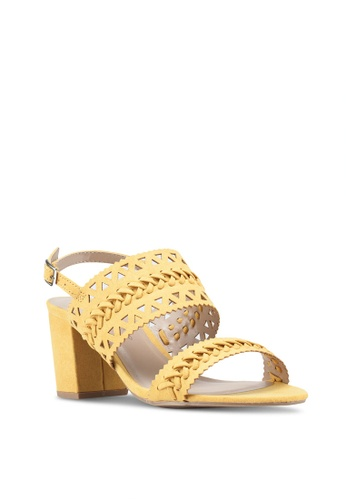 d7a006ca129 Buy Dorothy Perkins Yellow Shugar Heeled Sandals