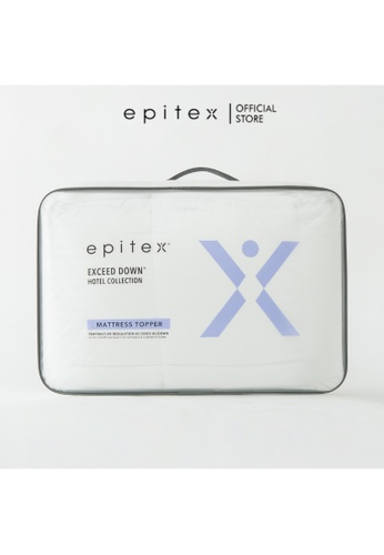 Epitex white Epitex Exceed Down Hotel Collection Mattress Topper 1E048HLB2BD1C4GS_1