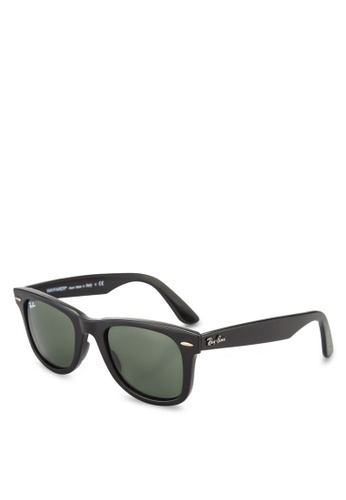 Ray-Ban black Wayfarer Ease RB4340 Sunglasses RA896GL72GSHMY_1