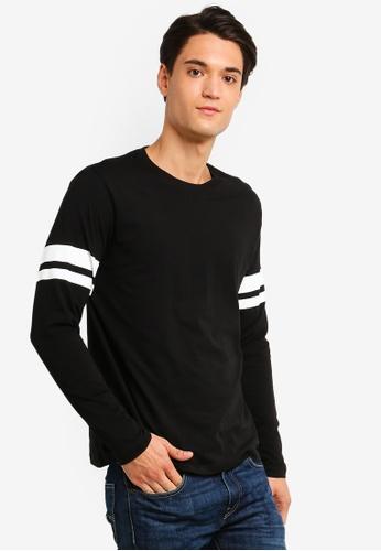 ESPRIT 黑色 長袖T恤 AB7A9AAB67E0FEGS_1