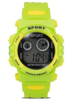Sport Shock Resist Unisex PVC Strap Watch 805-3