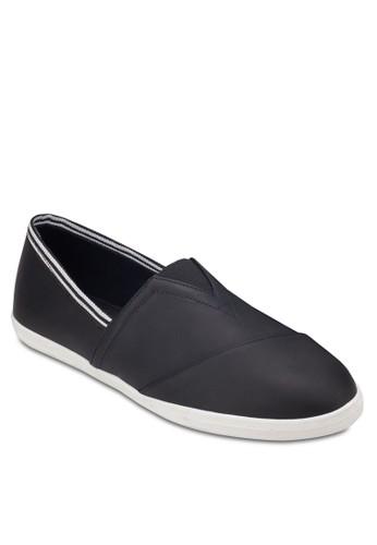 羅紋邊飾仿皮懶人鞋, 鞋, 懶人zalora 衣服評價鞋