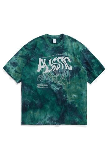 HAPPY FRIDAYS Tie-Dyed Oversize T-Shirt 1110S20 E27EEAA412C99CGS_1