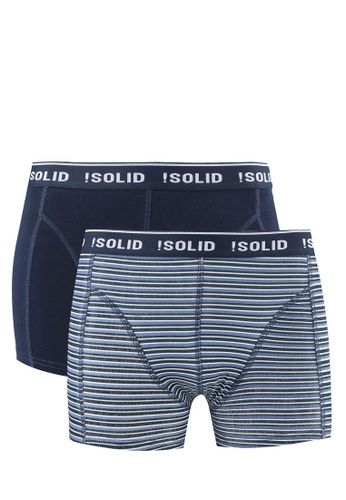 !Solid multi Jacky Cotton Stretch 2 Pack Trunks SO701US0RU6MMY_1