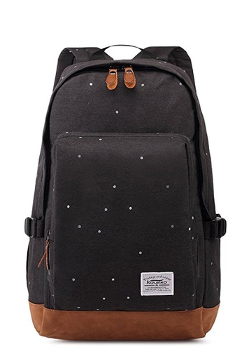 All Things New black KAUKKO Classic Heritage Oxford Fabric Backpack  AA709AC41EEDDFGS 1 8073c09b32