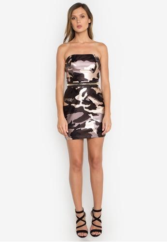 NOBASIC brown Leia Zipper Mini Dress NO444AA0FQHISG_1
