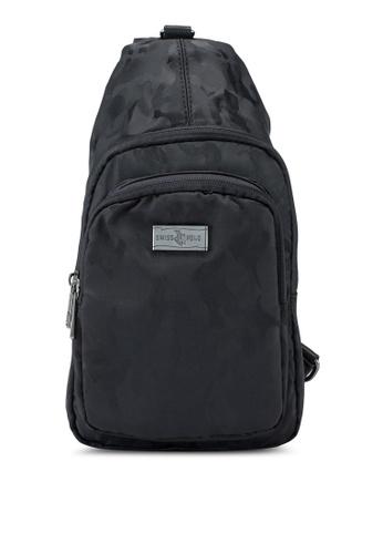 Swiss Polo black Chest Bag 10AF7ACC1419B3GS_1