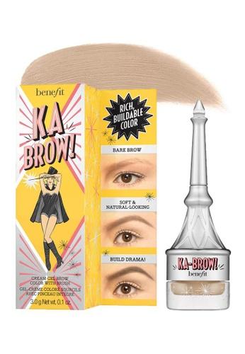 Benefit brown Ka-BROW! Eyebrow Cream-Gel Color #01 (Light) [Expiry: 30.12.2021] BE433BE0FLNESG_1