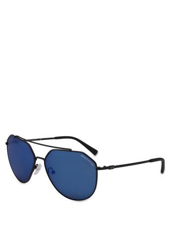Armani Exchange black Armani AX2023S Sunglasses C3807GLD868022GS_1