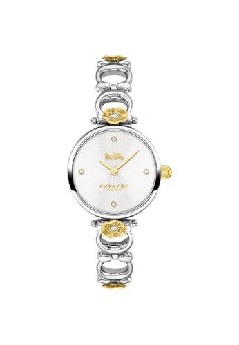 Coach silver Coach Park Silver White Women's Watch (14503445) 4A9BAAC8E5154EGS_1