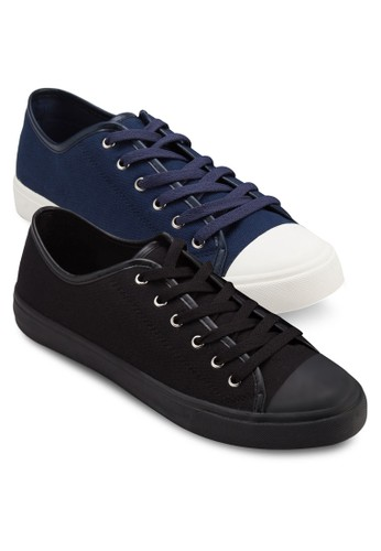 二入組帆布繫帶運esprit地址動鞋, 鞋, 休閒鞋