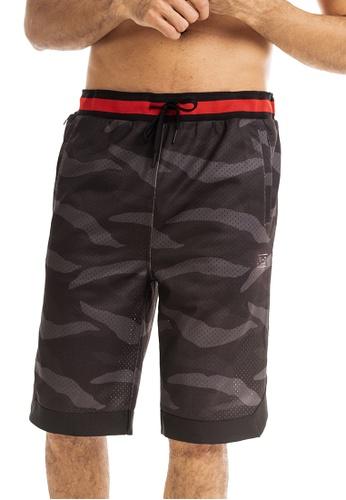 RYZ multi RYZ Basketball Cameo Print Shorts. FFD5BAABCED01CGS_1