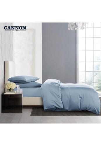 CANNON CANNON Morrison Crocetta - Celestial Blue (Fitted Sheet Set). C12ADHL508C341GS_1