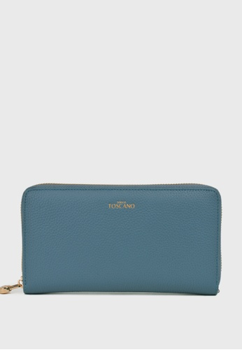 Tocco Toscano blue Aimee Long Wallet (Blue) 74829AC9027F37GS_1