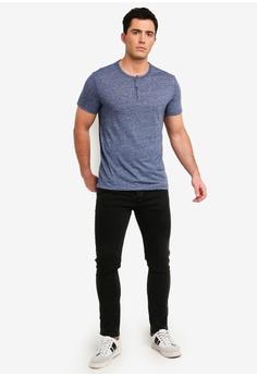 a8750e7e22a Banana Republic Vintage Slub Short Sleeve Henley T-Shirt S  46.90. Sizes XS  S M L XL