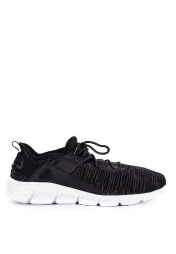 Fila black Lombardi Ms Running Shoes F3CA3SHF058664GS_1