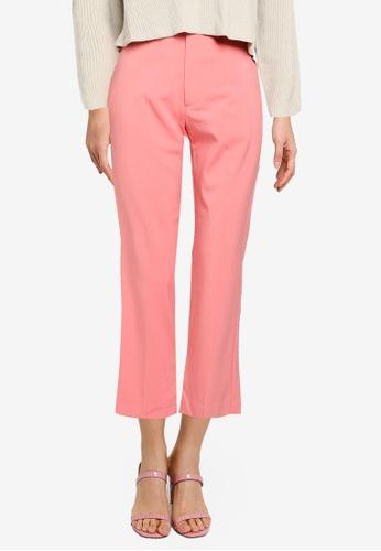 JEANASIS pink Basic Trousers DD84EAA09C9AA3GS_1