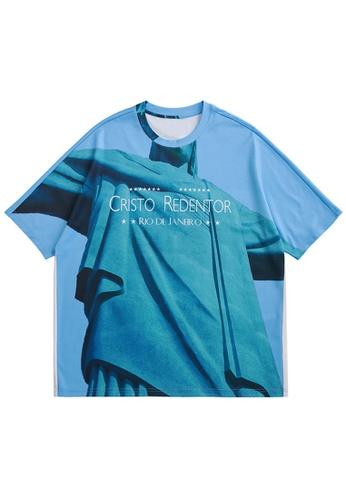 Twenty Eight Shoes Trend Printed Short T-shirt 5378S21 2CFBEAACBDFA9EGS_1