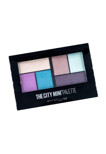 Maybelline blue Maybelline Mini Palette Grafitti Pop Eyeshadow 88C60BE50399CDGS_1