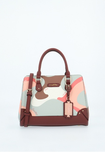 Carlo Rino red Maroon Posh in Pink Top Handle 7A71EAC12D6092GS_1