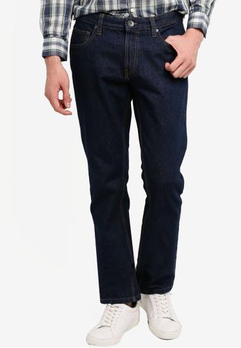 OVS 海軍藍色 Men's 休閒牛仔褲 8AF0BAACB341ECGS_1