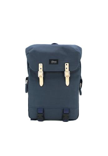 ideer blue Hunter 390 Blue Laptop / DSLR Camera Travel Backpack 5AC41ACD4716B0GS_1