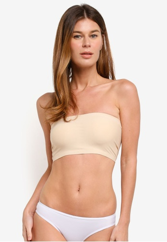 63a8ff3f923bd Buy Impression Seamless Tube Bra With Removable Cups Online on ZALORA  Singapore