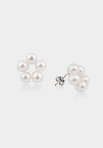 monojewelry CINNAMON FLOWER STUDS 52CF9ACDEBBB1FGS_1