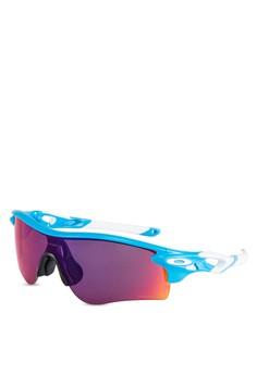 where can i buy oakley sunglasses 0nos  Oakley blue Sports Performance Sunglasses OA636GL98VRTMY_1