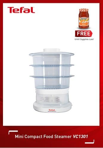 Tefal white Mini Compact Food Steamer 8816FHLAAE00A7GS_1